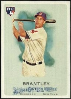 2010 Topps Allen and Ginter Michael Brantley Rookie Baseball Card