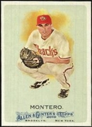 2010 Topps Allen and Ginter Miguel Montero Baseball Card