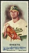 2010 Topps Allen and Ginter Mini A and G Back Ben Sheets Baseball Card