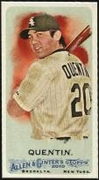 2010 Topps Allen and Ginter Mini A and G Back Carlos Quentin Baseball Card