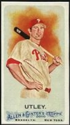 2010 Topps Allen and Ginter Mini A and G Back Chase Utley Baseball Card