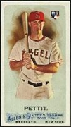 2010 Topps Allen and Ginter Mini A and G Back Chris Pettit Baseball Card