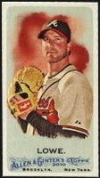 2010 Topps Allen and Ginter Mini A and G Back Derek Lowe Baseball Card