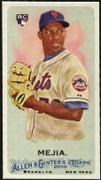 2010 Topps Allen and Ginter Mini A and G Back Jenrry Mejia Baseball Card