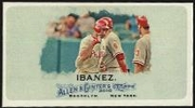 2010 Topps Allen and Ginter Mini A and G Back Raul Ibanez Baseball Card