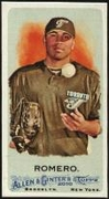 2010 Topps Allen and Ginter Mini A and G Back Ricky Romero Baseball Card
