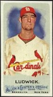 2010 Topps Allen and Ginter Mini A and G Back Ryan Ludwick Baseball Card