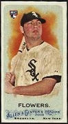2010 Topps Allen and Ginter Mini A and G Back Tyler Flowers Baseball Card