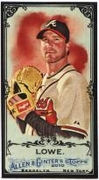 2010 Topps Allen and Ginter Mini Black Derek Lowe Baseball Card