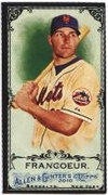 2010 Topps Allen and Ginter Mini Black Jeff Francoeur Baseball Card