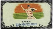 2010 Topps Allen and Ginter Mini Black Scott Baker Baseball Card