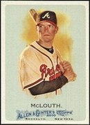 2010 Topps Allen and Ginter Nate McLouth SP Baseball Card