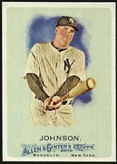 2010 Topps Allen and Ginter Nick Johnson Baseball Card