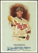 2010 Topps Allen and Ginter Orlando Hudson Baseball Card