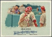 2010 Topps Allen and Ginter Raul Ibanez Baseball Card
