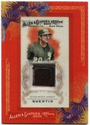 2010 Topps Allen and Ginter Relics Carlos Quentin Game-Worn Jersey Baseball Card
