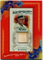 2010 Topps Allen and Ginter Relics Kyle Blanks Game Used Bat Baseball Card