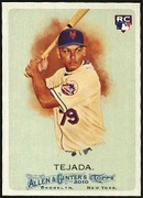 2010 Topps Allen and Ginter Ruben Tejada Rookie Baseball Card