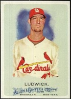2010 Topps Allen and Ginter Ryan Ludwick Baseball Card