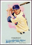 2010 Topps Allen and Ginter Ryan Theriot SP Baseball Card