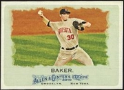 2010 Topps Allen and Ginter Scott Baker Baseball Card