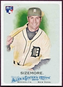 2010 Topps Allen and Ginter Scott Sizemore SP Rookie Baseball Card
