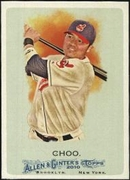 2010 Topps Allen and Ginter Shin-Soo Choo Baseball Card