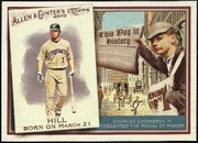 2010 Topps Allen and Ginter This Day in History Aaron Hill Baseball Card