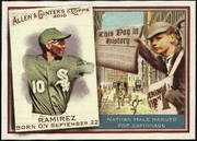 2010 Topps Allen and Ginter This Day in History Alexei Ramirez Baseball Card