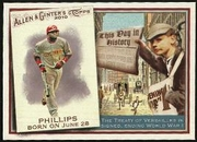 2010 Topps Allen and Ginter This Day in History Brandon Phillips Baseball Card