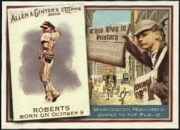 2010 Topps Allen and Ginter This Day in History Brian Roberts Baseball Card