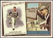 2010 Topps Allen and Ginter This Day in History Carlos Gonzalez Baseball Card