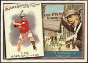 2010 Topps Allen and Ginter This Day in History Carlos Lee Baseball Card