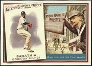 2010 Topps Allen and Ginter This Day in History CC Sabathia Baseball Card