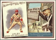 2010 Topps Allen and Ginter This Day in History Chase Utley Baseball Card