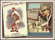 2010 Topps Allen and Ginter This Day in History Dan Haren Baseball Card