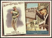 2010 Topps Allen and Ginter This Day in History Dan Uggla Baseball Card