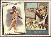 2010 Topps Allen and Ginter This Day in History Derrek Lee Baseball Card
