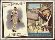 2010 Topps Allen and Ginter This Day in History Francisco Rodriguez Baseball Card