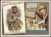 2010 Topps Allen and Ginter This Day in History Hanley Ramirez Baseball Card