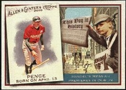 2010 Topps Allen and Ginter This Day in History Hunter Pence Baseball Card