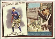 2010 Topps Allen and Ginter This Day in History Ian Kinsler Baseball Card
