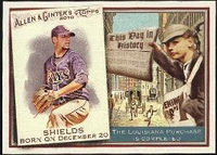 2010 Topps Allen and Ginter This Day in History James Shields Baseball Card