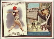 2010 Topps Allen and Ginter This Day in History Jay Bruce Baseball Card