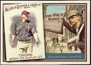 2010 Topps Allen and Ginter This Day in History Jim Thome Baseball Card