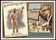 2010 Topps Allen and Ginter This Day in History Jimmy Rollins Baseball Card
