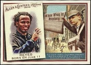 2010 Topps Allen and Ginter This Day in History Jose Reyes Baseball Card