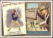 2010 Topps Allen and Ginter This Day in History Josh Hamilton Baseball Card