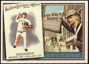 2010 Topps Allen and Ginter This Day in History Josh Johnson Baseball Card