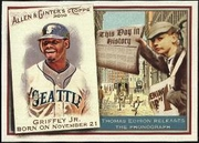 2010 Topps Allen and Ginter This Day in History Ken Griffey Jr. Baseball Card